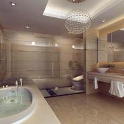 别墅现代卫生间欣赏