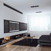 2016前卫都市单身公寓客厅室内装潢设计图