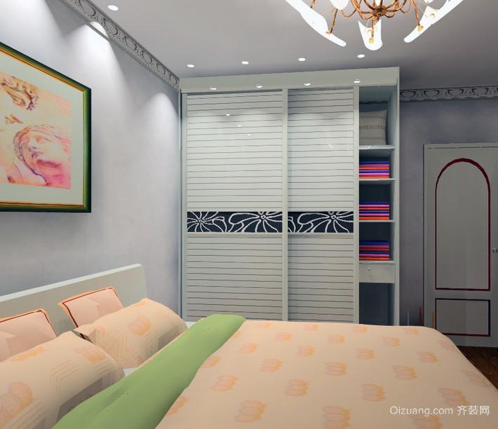 90平米大户型欧式风格整体衣柜装修效果图