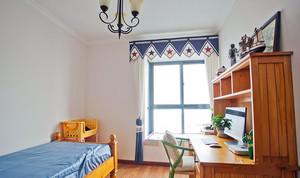 93平米两室一厅美式田园风格装修图片