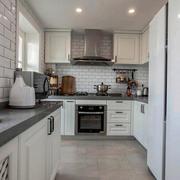 家庭厨房简约设计