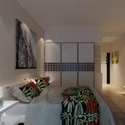 2016精美的欧式单身公寓卧室装修效果图