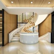 优美现代化楼梯图片