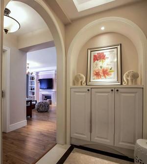 2016现代美式三室两卫家庭装潢效果图