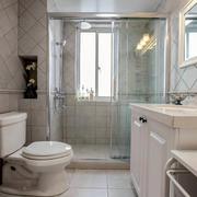家庭卫生间玻璃隔断