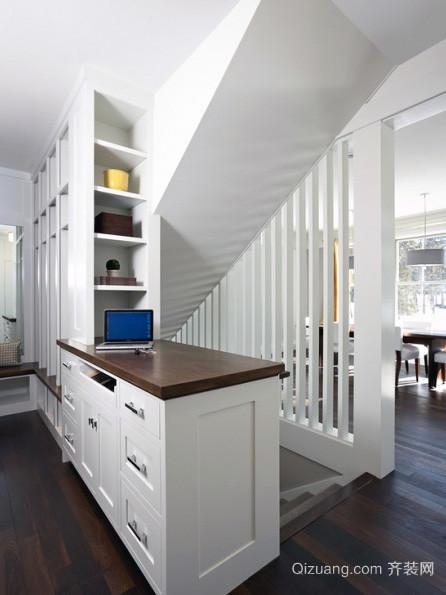 2016都市大户型简约风格室内楼梯装修效果图