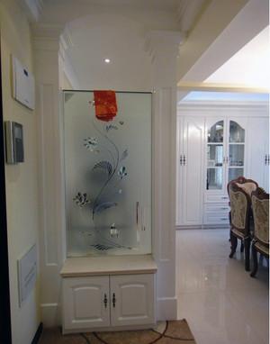 吸引眼球的大户型欧式房间玄关隔断装修效果图