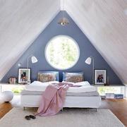 三角阁楼卧室前卫设计