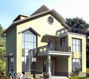 2016精致的现代新农村房屋设计效果图