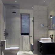 15平米的极小户型欧式卫生间装修效果图