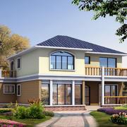 暖色调房子图