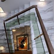 大理石瓷砖楼梯图片