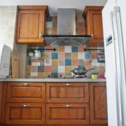 田园厨房马赛克背景墙
