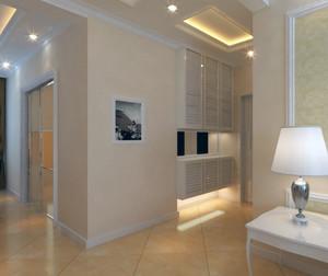 别墅型欧式风格室内鞋柜装修效果图