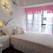 田园小卧室墙面设计