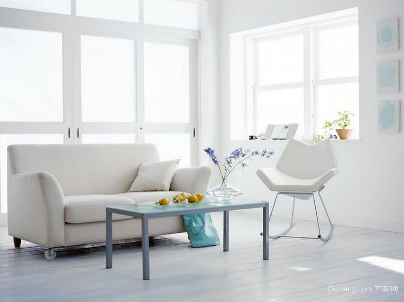 小户型欧式风格客厅样板间装修效果图实例