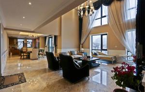 复式楼客厅瓷砖地板