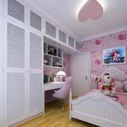 家庭粉色儿童房展示
