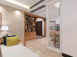 魅力空间之四居室家庭混搭风格装潢效果图
