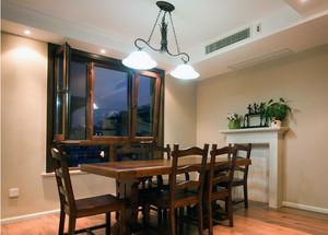 小户型家装美式餐厅背景墙装修效果图案例