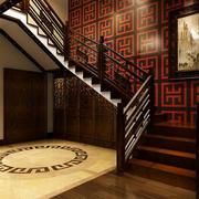 古典艺术型楼梯展示