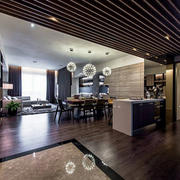 家庭客厅整体装饰