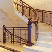 简欧风格楼梯装饰