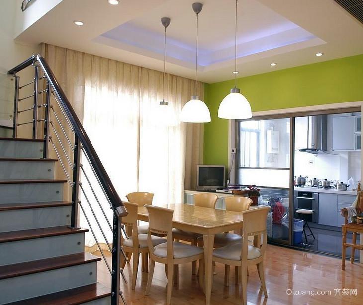 大户型欧式风格室内交换空间装修效果图实例