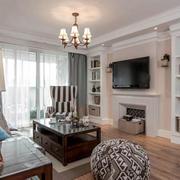 家庭客厅电视墙设计