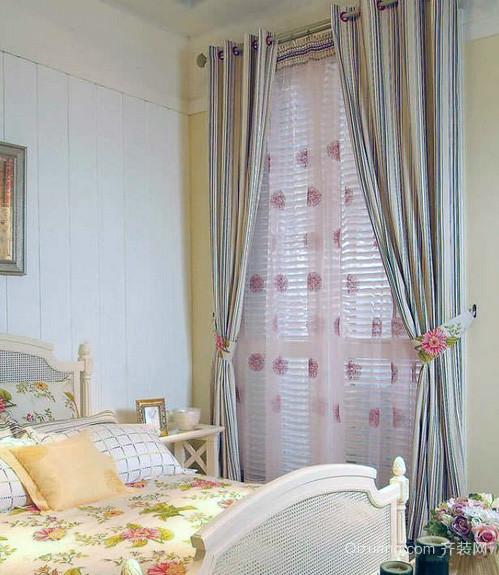 小户型家装欧式风格窗帘装修效果图鉴赏