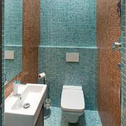 家庭卫生间瓷砖展示