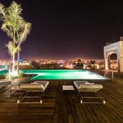 酒店浪漫夜景图片