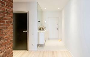 简约一室一厅单身公寓装修图