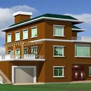 现代房屋外形设计
