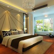 卧室床头背景墙个性设计