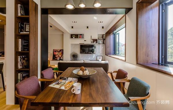 让生活更有趣:103平米家庭自然风装修图