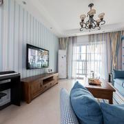 公寓客厅电视墙壁纸