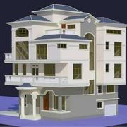 室外房屋设计模板