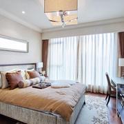 简约现代化的卧室