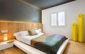 美好和谐的现代复式楼家庭装修设计效果图