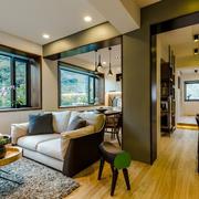 家庭小客厅别致沙发