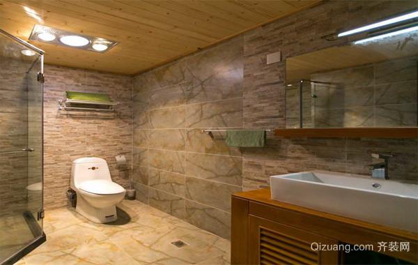 2016欧式风格家庭卫生间吊顶装修效果图