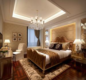 奢侈品:大卧室欧式古典装修效果图