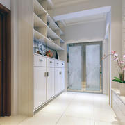 大户型经典的现代欧式客厅鞋柜装修效果图