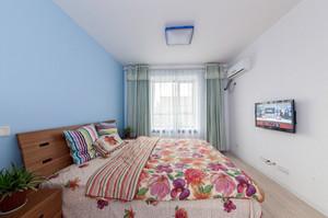与众不同的地中海风情单身公寓装修效果图