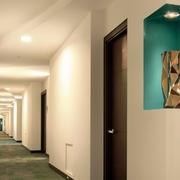 酒店个性走廊吊顶