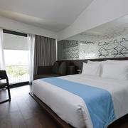 酒店时尚卧室展示