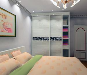 100平米大户型欧式室内整体衣柜装修效果图