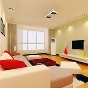 70平米欧式小户型室内吊顶装修效果图实例