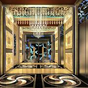 精致现代化夜总会走廊设计效果图